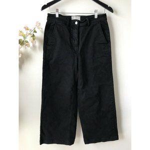 Everlane The Wide Leg Crop Pants Black
